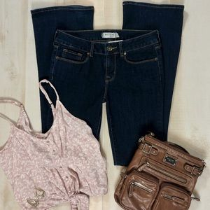 Bullhead Black Flare Jeans